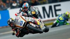 Scott Redding y la lluvia cortan de golpe la racha de los espaoles
